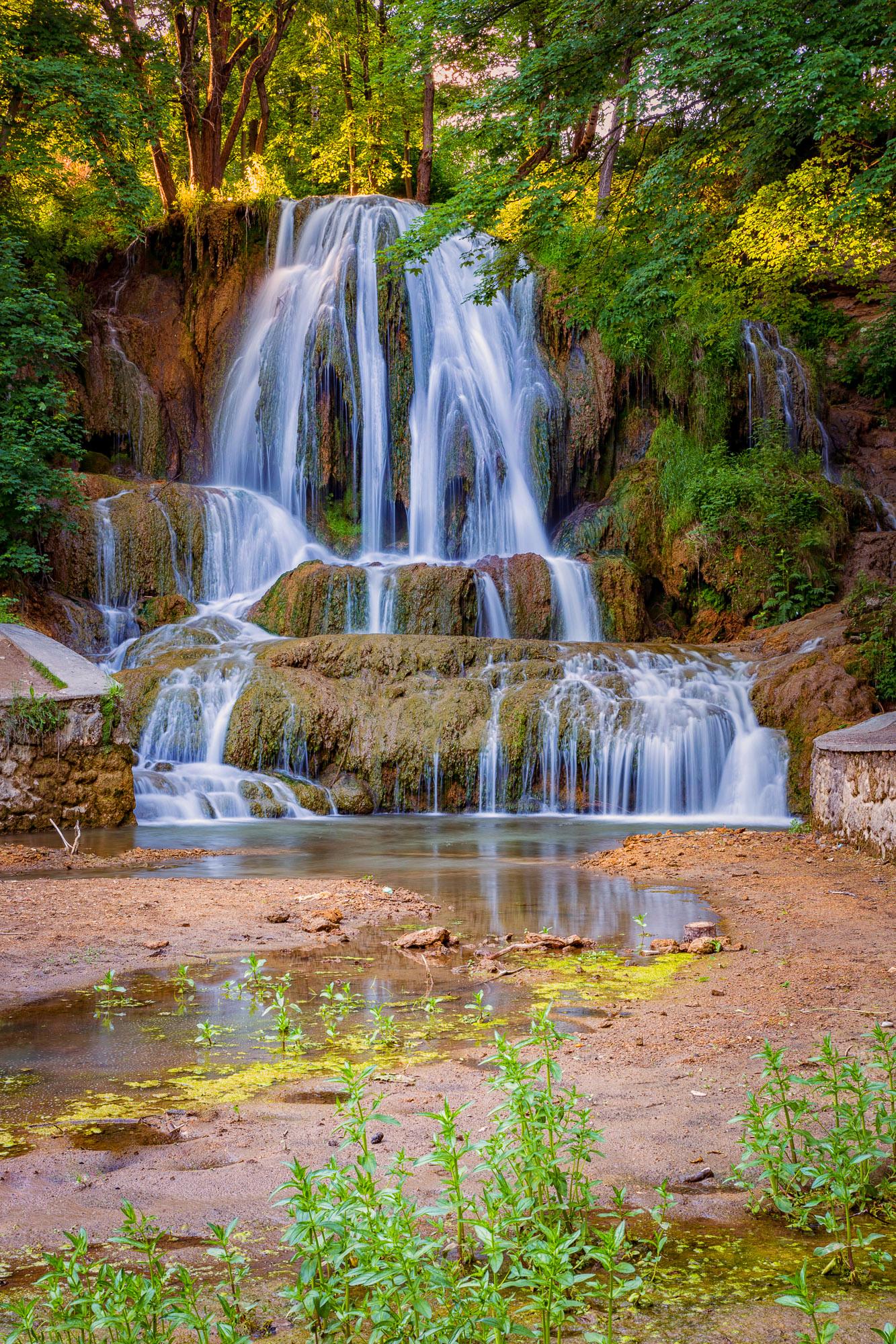 Máj - Lučanský vodopád